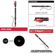 M12 Trap Snake 12-volt Lithium-ion Cordless 4 Ft. Urinal Auger Drain Cleaning T