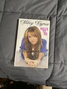 Miley Cyrus Miles To Go Book / Signed / 1st Ed / Sealed Rare Early Signature