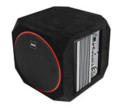 Boss Audio Systems Cube8 Car Subwoofer And Amp Package Andndash 400w High Output Built