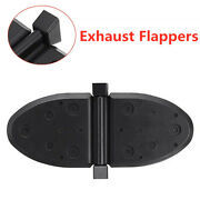 2pcs Rubber Exhaust Flappers Water Shutters Marine Boat Outboard Kit 807166a1