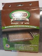 New Outrigger Rv Step Rugs Prest-o-fit 2-0313 Castle Gray 18 X 17 Lot Of 2.