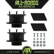 2.5 Front Steel Spacers Lift Kit Sway Bar For 1994-2002 Dodge Ram 2500 3500 4wd