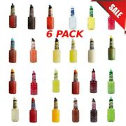 6-pack 1 Liter Of Drink Mix Finest Call Bar Syrups Toppings Cocktail Mixes New