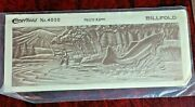 Vintage Leather Billfold Craftaid Stencil 4020 Trout Fishing