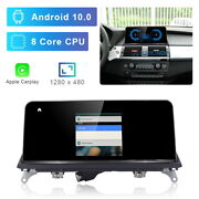8-core Android 10 Car Gps Bt Built-in Wireless Carplay For Bmw X5 X6 E70 E71 Cic