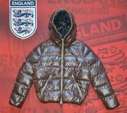 Duvetica Dionisio Men's Puffer Down Hooded Jacket Size 50 M Brown Casual