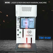 Tbk958b Automatic Laser Marking Machine Back Glass Separator For Iphone 8 Xr