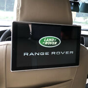 For Range Rover Back Seat Support Wifi 4k Screen Video Car Tv Headrest Monitor
