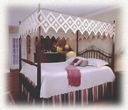 Hand Tied Bedding Co. - Canopy - Double Diamond Design Fishnet Canopy Top