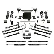 For Jeep Gladiator 20 Fabtech K4169m 3 Crawler Front And Rear Suspension Lift Kit