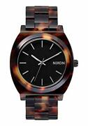 Nixon Womenand039s A327-646 Plastic Analog With Black Dial Watch