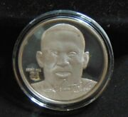 Grant Hill Detroit Pistons 1.5 Ozt .999 Silver Round Highland Mint Coin 1 / 2500