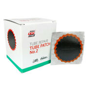 30 Rema Tip Top No. 2 Round Patches - Flat Tire Tube Puncture Repair Kit Refills