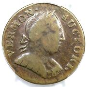 1788 Rr-20 R-4 Pcgs Vf 20 Bust Right Vermont Colonial Copper Coin
