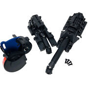 Traxxas Complete Front Rear Diff And Centre Driveshaft - Gearbox - E-revo 2.0 Vxl