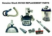 Genuine Shark Nv360 Navigator Lift-away Deluxe Upright Vacuum Replacement Parts