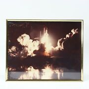 Vintage Nasa Space Shuttle Challenger Wasatch Division Aug 30 1983 8x10 Photo