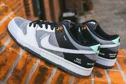 Nike Sb Dunk Low Pro Iso Camcorder Sony Dcr-vx1000 Cv1659-001 Smoke Grey Us 8.5