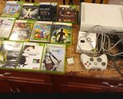 Used Xbox 360 Console And Games Lot
