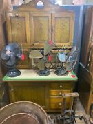 Antique Hoosier Cabinet With Flour Sifter And Bread Box