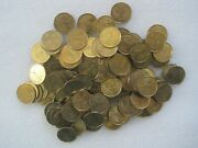 Lot Of 12 Religious Guardian Angel Pocket Token Coin Medal 0228