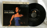 Lena Horne Stormy Weather Rca Victor Epa 1-1375 Record M- Cover Vg++