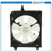 Electric A/c Condenser Cooling Fan Assembly For 1994 1995 1996 1997 Honda Accord