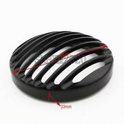 Black 5.75 Headlight Grill Cover For Harley-davidson Iron 883 Xl883n 2009-2020