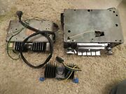 68-71 C3 Corvette Stereo Radio With Knobs W/multiplexor And Amp--prof Restored