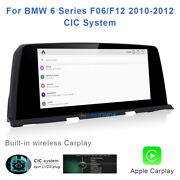 8-core Android 10 Car Gps Video Player Wireless Carplay For Bmw 6 Series F06 F12