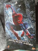 Hot Toys Mms 179 The Amazing Spiderman Spider-man Andrew Garfield Figure