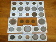 Lot Of 30 Vintage 1942-1980 European Money Or Coins
