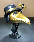 Raid71 - Plague Doctor Variant - Peanuts Snoopy Statue Bng Bottleneck Sn /200