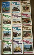 Lot Of 12 Engineers And Engines Magazines 1990-92 Steam Gas Tractor Farm Book