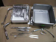 V. Mueller Rectal Surgical Instrument Tray And Genesis Sterilization Case