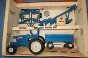 Ertl Ford 1/16th Scale 4 Piece Deluxe Farm Set