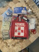 Outdoor Multipurpose Red First Aid Emergency Survival Kit Travel Medical Bag