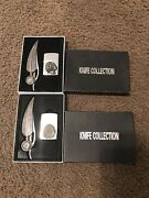 Knife And Lighter Collection Eagle And Indian Feather Knife And Lighter Steel