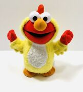 Sesame Street Chicken Dance Elmo- By Fisher Price 2003 Sings And Walks Tested