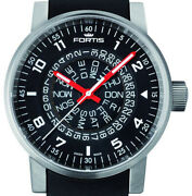 Fortis Spacematic Limited Edition Divers Watch Model 623.10.51 Counterrotation