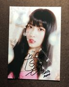 Hand Signed Twice Momo Autographed Photo Feel Special Photo K-pop 57 092019b