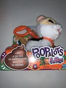 New  Furreal Poopalots Big Wags Kitty Interactive Pet Toy Kid Toy Gift Leash