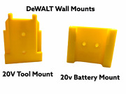 Dewalt 20v Compatible Tool Or Battery Holders Mount 10 Pack No Tools Included