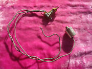 Vintage 1950and039s Gibson No Logo Switchcraft Pickup Selector Gold Les Paul Custom