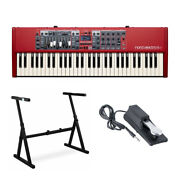 Nord Electro 6d 61-key Semi-weighted Keyboard With Stand And Sustain Pedal