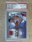 Yao Ming 2002 Chinese Upper Deck Star Imports Rc Psa 10 Rare 🔥pop-2 🔥 Rookie
