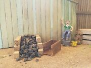 Bulk G Scale Coal 100 Anthracite Great For Garden Railroads Live Steam Forge