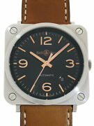 Bell And Ross Aviation Golden Heritage Brs92ghest Menand039s Used Watch