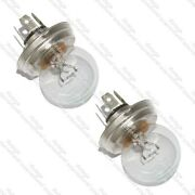 Pair Head Lamp Bulb 12v 45/40w Without Shield For Royal Enfield New