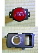 Honda Genuine Push Start Button Type R Fd2 Fd1 07-09 Ignition Switch And Cover